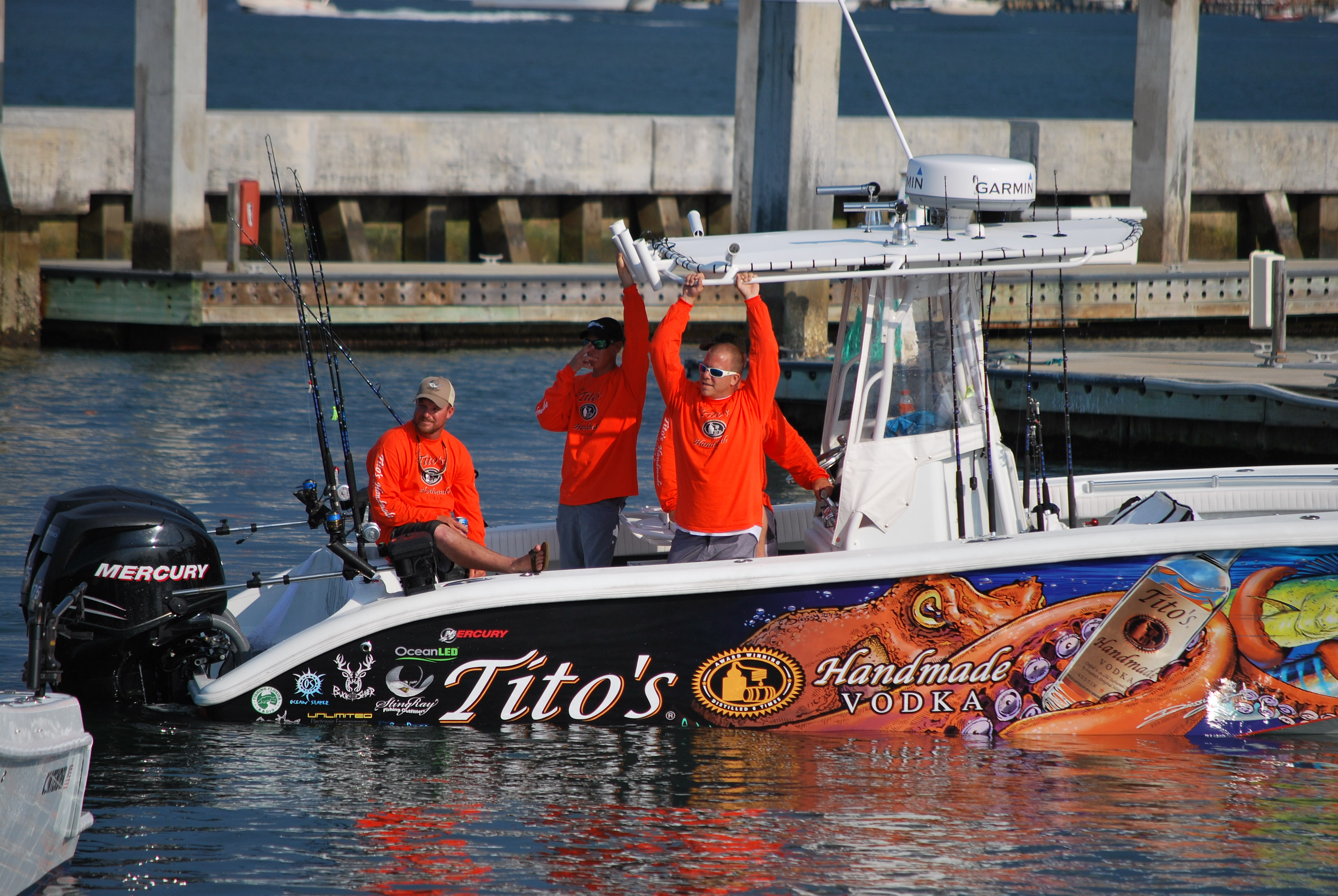 Team Tito's SKA Greater 440 waiting for the weigh-in 2