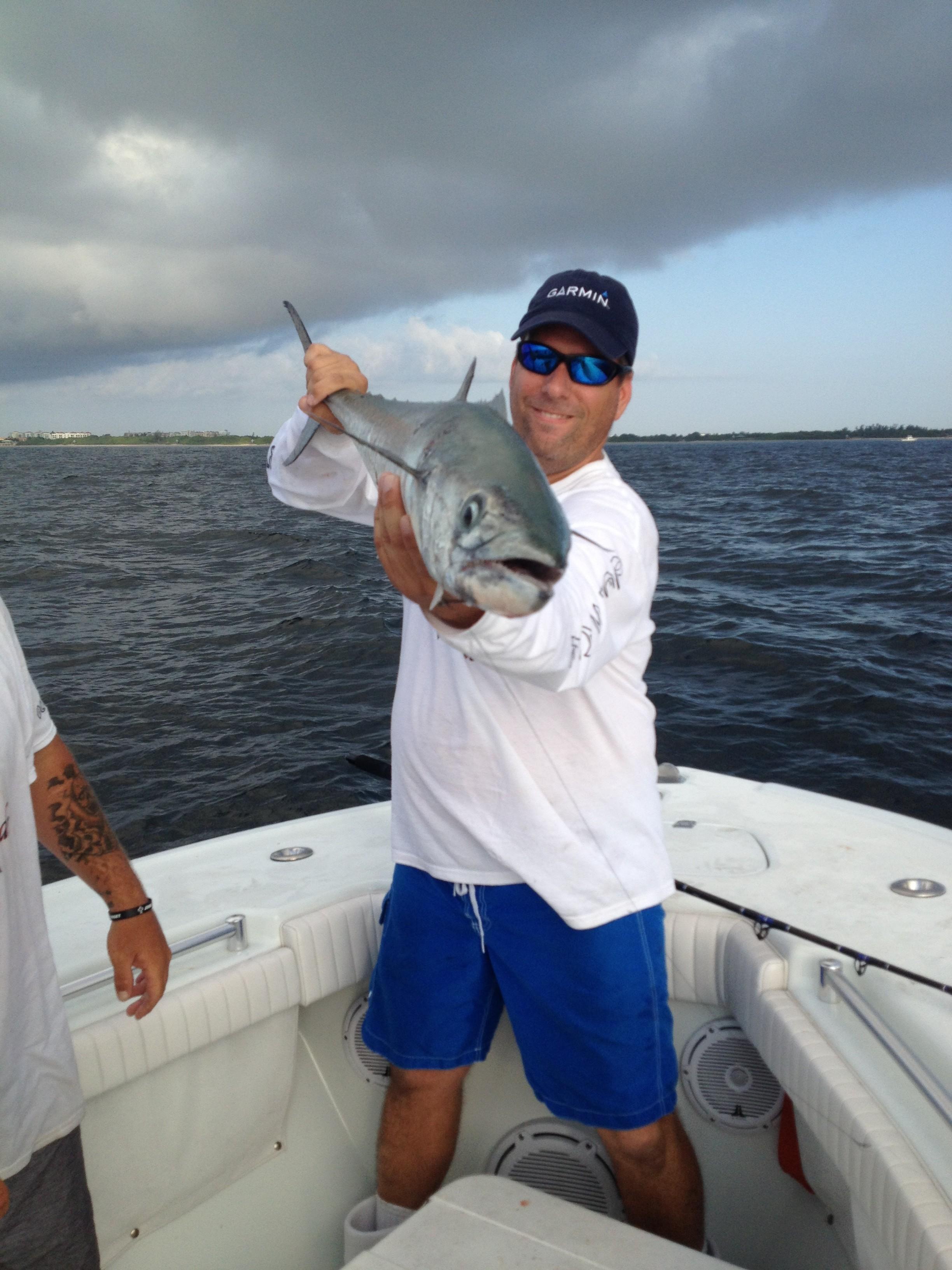 John with a 20lb SKA kingfish