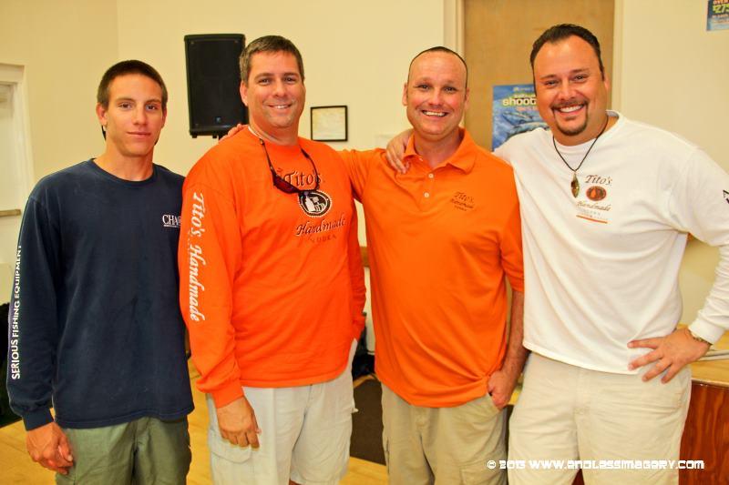 Team TItos Captains meeting yellowfin SKA